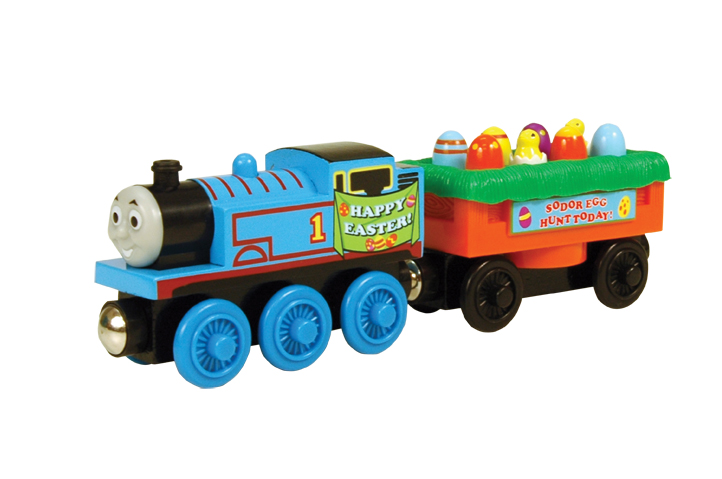 Thomas and the Easteregg Car