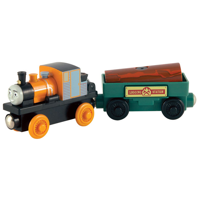 Dash with Logging Car