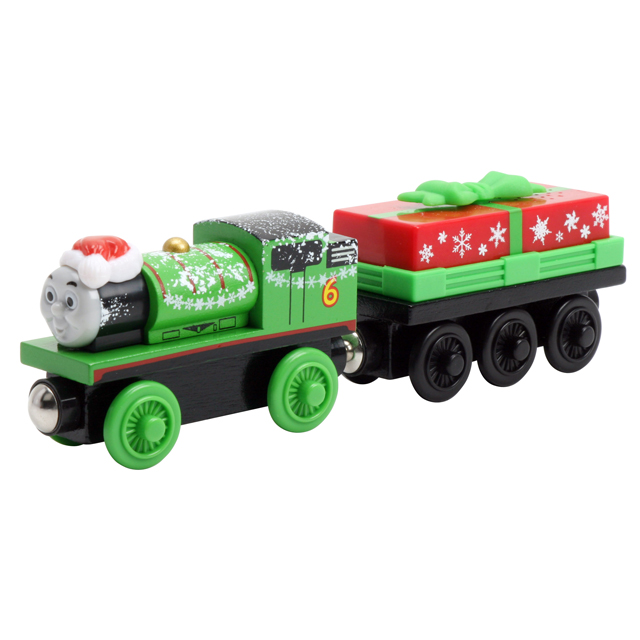 Christmas Percy with Present Car