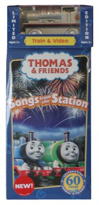 Silver Percy Engine and Songs from the Station VHS Video Tape