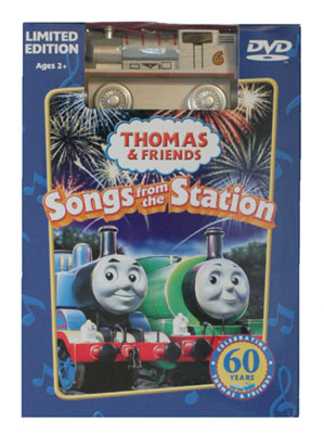 Silver Percy and Songs from the Station DVD